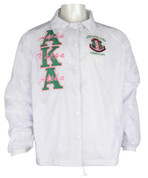 AKA White Signature Line Jacket