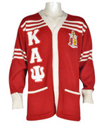 Red KAY Cardigan Style Sweater