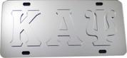 Platinum Series Tag with Raised Letters