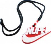 NUPE Acrylic Medallion