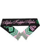 Alpha Kappa Alpha Scarf- Black