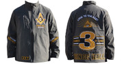 Prince Hall Waterproof Windbreaker