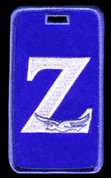 """Z"" Luggage Tag- ZPB"