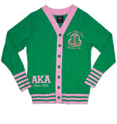 AKA Lightweight Cardigan - Green