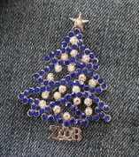 ZPB Christmas Tree Lapel Pin