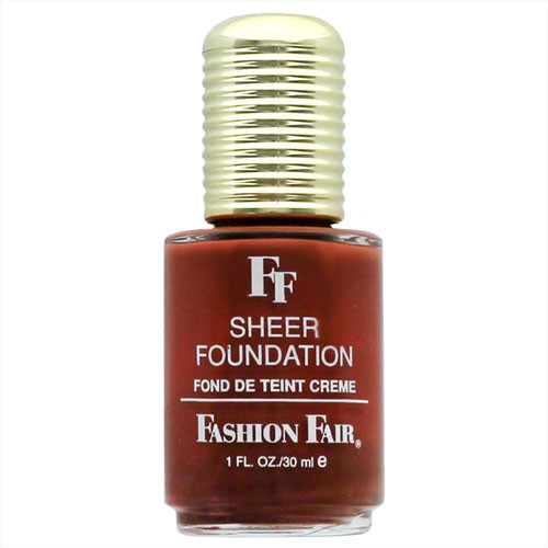 Fashion Fair Sheer Foundation