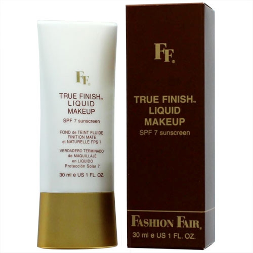Fashion Fair True Finish Liquid Makeup, SPF 7