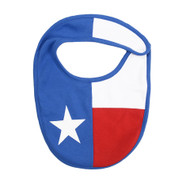 State of Texas Flag Bib with Velcro Closure