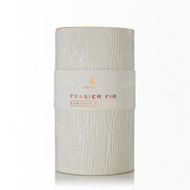 Thymes Frasier Fir Ceramic Pillar Candle