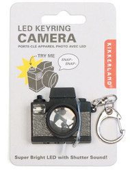 """Camera LED Light Key-Chain with """"Shutter"""" Sound!"""
