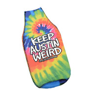 "Keep Austin Weird  ""Support Local Business""  Bottle Insulator & Opener (PPOPTD3)"