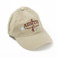 Austin Texas Guitar Music Cap (3145CPKH)
