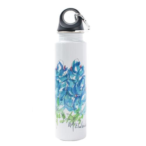 Kathleen McElwaine Bluebonnet Stainless Water Bottle