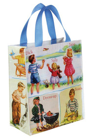 Blue Q Dick & Jane Handy Tote (QA353)