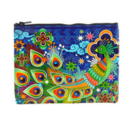 Blue Q Peacock Zipper Pouch (QA233)