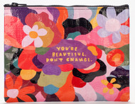 Blue Q You're Beautiful Zipper Pouch (QA251)