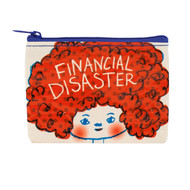 Blue Q Financial Disaster Coin Purse (QA571)