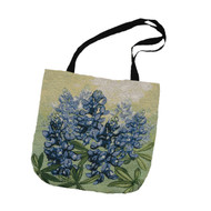 Bluebonnet Tapestry Tote