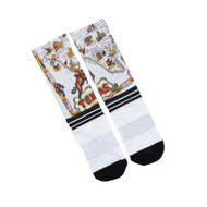 LO  Texas Road Map Socks (One Size)