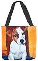 MWW Baby Jack Russell Tote SOBJKR