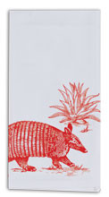 Armadillo Flour Sack Tea Towel (R0316)