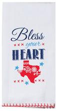 Bless Your Heart Flour Sack Tea Towel (R3768)