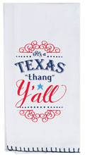 Texas Y'all Flour Sack Tea Towel (R3769)