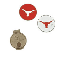 Longhorn Hat Clip and Ball Markers