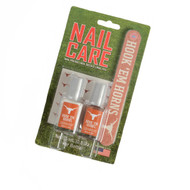 Texas Longhorn Nail Care Polish, Decals & File
