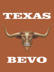 Texas Longhorn 3D Bevo  Garden Flag (013131864EYE)