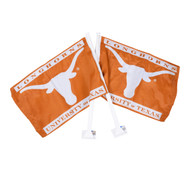 Texas Longhorn Car Flag (Single-Get One for Each Side!) (97034)