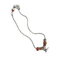 Texas Longhorn Charm Necklace (3334220)