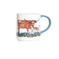Kathleen McElwaine Mama & Calf Mug (8129SUB)