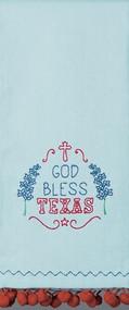 God Bless Texas Kitchen Towel