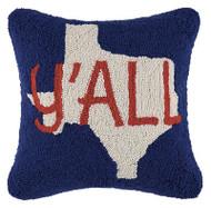 Texas Y'all Crewel Pillow