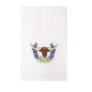 Longhorn Bluebonnet Towel