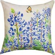 MWW Bluebonnets in Bloom Pillow SLBLBM