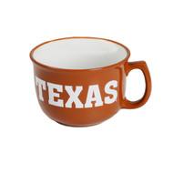 Texas Longhorn Soup Bowl Mug (4246BO)