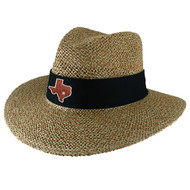 Team Color Angler  Straw Safari Hat (89-Natblk)