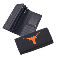 Texas Longhorn Black Fabric Wallet (33192111)