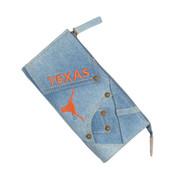 Texas Longhorn Denim Wallet