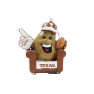 Texas Longhorn Couch Potato Ornament (190163267997)