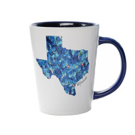 Kathleen McElwaine State Bluebonnet Mug (4166SUB)
