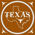 Texas Longhorn Luncheon Napkins (482-25)