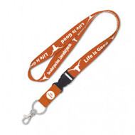 Texas Longhorn Life is Good Lanyard (58186117)