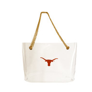Texas Longhorn Large Clear Stadium Bag (877TEX)