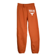 Texas Longhorn Old School Cuff Sweat Pant (CG115)