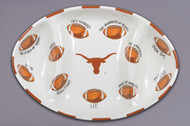 Texas Longhorn Football Platter (22542)