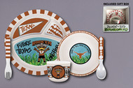 Texas Longhorn Kids Eating Set (5 Pieces) (22505)