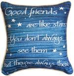 Good Friends are Like Stars Pillow (SDPFLS)
